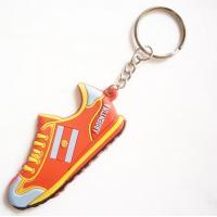 China custom shoes Key chain silicone rubber keychain on sale