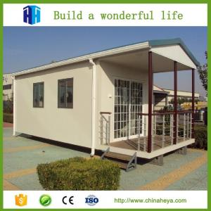 China HEYA 2 bedroom modular homes prefab house designs Africa 58.19m2 on sale