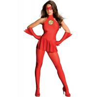 Hero Costumes Wholesale Spandex Red The Flash Costume with size S to XXL