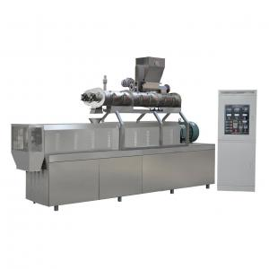 China 900kg/h twin screw extruder South Korea fish feed pellet machine price on sale