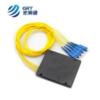 GRT quality FTTX 1x4, 1x8, 1x16 1m SC Fiber Optic Optical PLC Splitter
