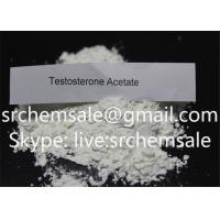 Testosterone Acetate Pharmaceutical Intermediates Muscle Building Steroid Powder  Test Acetate 1045-69-8