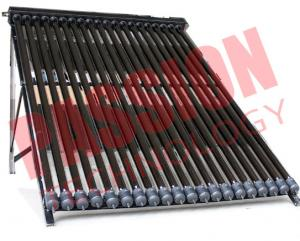 China 20 Tubes U Pipe Solar Collector For House Black Manifold Wind Resistance on sale