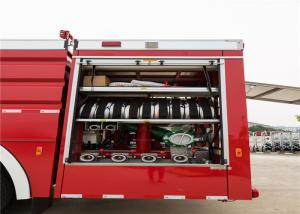 Rear Mounted Pump Airport Fire Truck Low Idle Speed 800rpm