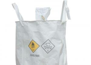 Quality Indusry Use Flexible 1 Tonne Dumpy Bags , Breathable Security PP FIBC Bags for sale