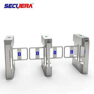 China 304 Stainless Steel Outdoor Optical Rfid Vertical Access Control Turnstiles Mechanism on sale