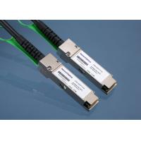 Direct Attach QSFP + Copper Cable Twinax 40GBASE-CR4 For Network