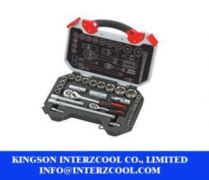 China Kraft design 25 pcs socket hand tools household tool set on sale