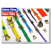 China 2 Ratchet Strap Webbing Belt Car Tie Down Straps With Buckle Water Resistant on sale