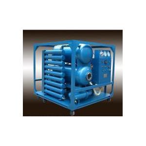 China Tipo doble máquina de las etapas del filtro de aceite del transformador del alto vacío on sale