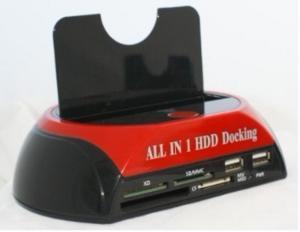 """Quality 2.5 3.5""""へのUSB2.0&e-SATA SATA多機能HDDのドッキング・ステーション879U2C for sale"""
