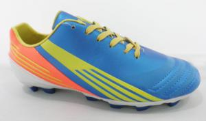 China Custom Leather Adidas Outdoor Soccer Cleats , Sporty Men Soccer Boots on sale