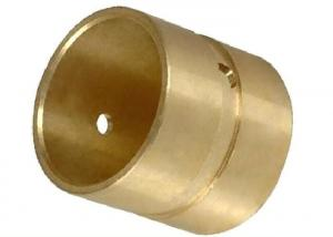 China Chamfered Ends Plain Bearing Bush 10X30 Bronze Shaft Bushings for Axle Bearings on sale