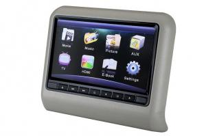 China 9 inch TOUCH SCREEN Active Car Headrest Monitor WITH HDMI INPUT AV IN IR FM SPEAKERS on sale
