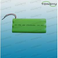 AA 2500mAh 14.4V NiMh Rechargeable Battery Pack for Electronic Toys , Flashlights