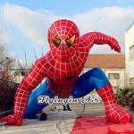 Handsome Inflatable Spider-man for Shop and Outdoor Decoration