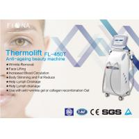 Anti Aging Professional Skin Tightening Machine Radio Frequency Thermal Energy