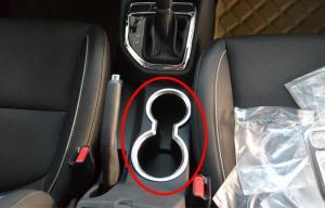 China Hyundai IX25 2014 Auto Interior Trim Parts , ABS Chrome Inner Cap Base Rim on sale
