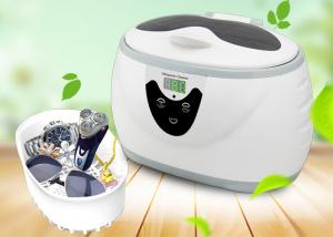China 600ml easy home ultrasonic cleaner for toothbrush, shaver L508 on sale