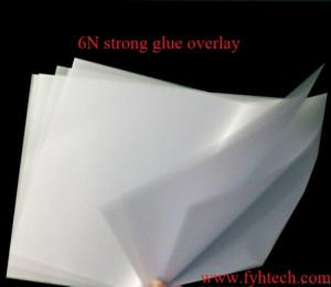 China 6n Strong Glue Pvc Overlay on sale