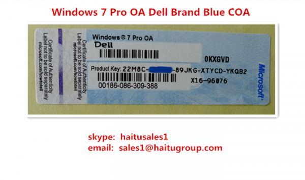 what is windows 7 pro oa