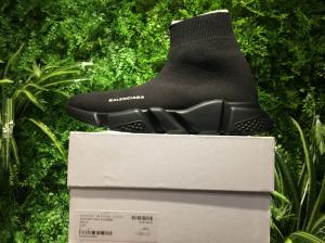 "China Balenciaga Stretch Mesh High Top Sneaker ""All Black"" , 2017 Newest Arrivals For Sale on sale"