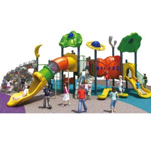 China Public Outdoor Playground Equipment Plastic Kai Qi Playground Ideal Option For Kindergarten on sale
