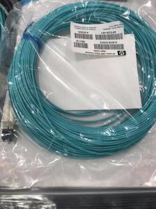 China Multi - Mode LC / LC Fiber Channel Cable OM3 2m 6.56ft Blue Color on sale