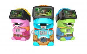 China 2017 New kids game machine cartoon figures children vr 9d video game machine on sale