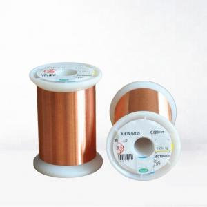 China UEW / PEW Combined Enamelled Copper Wire 2 - 4 Strips For Coil Winding on sale