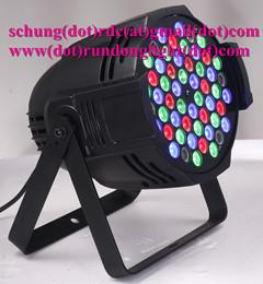 China 54pcs*3W RGBW IP20 LED Stage Wash Light on sale