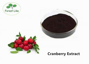 China Fresh Berry Cranberry Extract Powder 25% Anthocyanidins Enhance The Immunity supplier