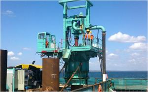 China Hydraulic Drilling Rig  for  Bridges, Marine,Super structures and building  Pile Foundation with 150M Depth on sale