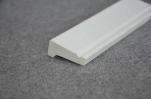 China Vinyl Wall Drip Cap PVC Trim Moulding For Decoration Plastic Wall Line on sale