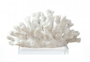 China Hanging Plaques Faux Decorative Resin Coral For Wedding Party Sea Cluster Decor on sale
