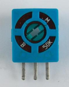 China 10mm Variable Resistor Precision Potentiometer (R1003N) on sale