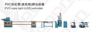 China PVC LED Rope Light Extrusion Machine, Outdoor Water Proof, CE Certificate on sale
