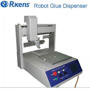 China Hot selling UV glue dispensing machinery for PCB board, Glue dispenser robot on sale