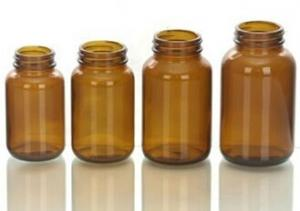China Table Pharmaceutical  glass bottle with wide mouth on sale