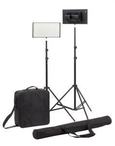 China High Power Photographic LED Studio Lighting Kit Easy Carrying on sale