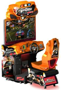 China Simulator Video Music Car Racing Arcade Machine Fast Furious MR-QF351 on sale