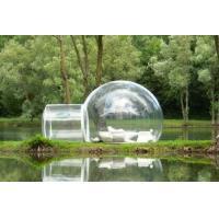 Fire Retardant Inflatable Bubble Tent , Durable Dome 4 Season Tent Standard Carton Packing