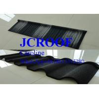 Wood Design Steel Roof Shingles 1340mm*420mm*0.4mm , Corrugated Steel Roofing Sheets