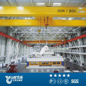 China Engineers service QD type 20 ton double girder overhead crane for sale on sale