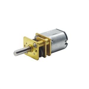 China 12mm Miniature DC Gear Motor 3v 6v 12v 12GFN10 For Smart Lock RoHS Approved on sale