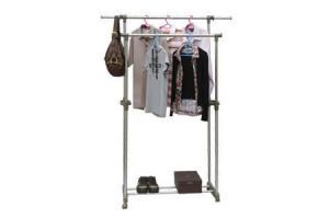 China Fashionable Double Bars Laundry Racks on sale