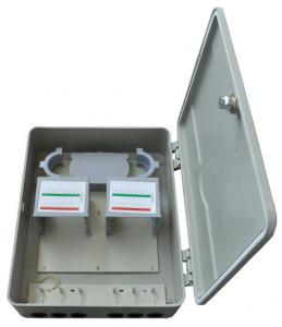China Outdoor Fiber Distribution Box HSGFKSW-64 , Optical Distribution Cabinet on sale