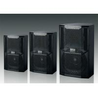 Portable Concert Sound System Full Range Stage Monitor Speaker With Black Paint