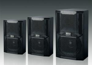 China Portable Concert Sound System Full Range Stage Monitor Speaker With Black Paint on sale