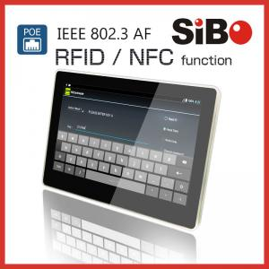 China RFID NFC Wall Tablet POE Panel PC With Demo APP And Source Code on sale